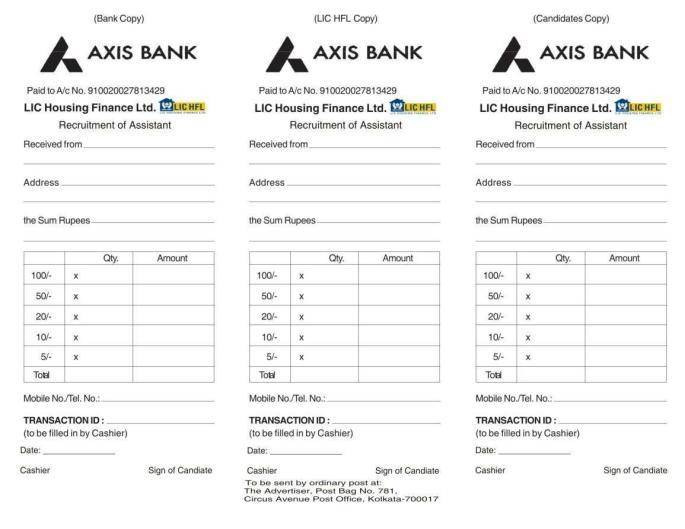 AxisBank_RecruitmentApplication_Challan